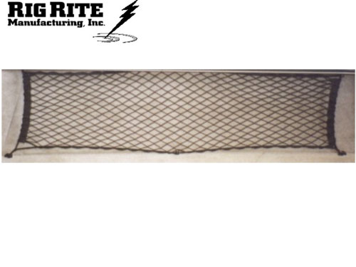 Rig Rite Manufacturing 1200 Marine 42 Boatgo Storage Net with 8 Hooks and Screws