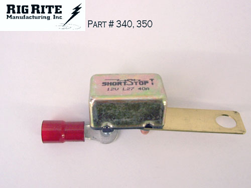 Trolling motor accessories rigrite manufacturing for Trolling motor circuit breaker installation